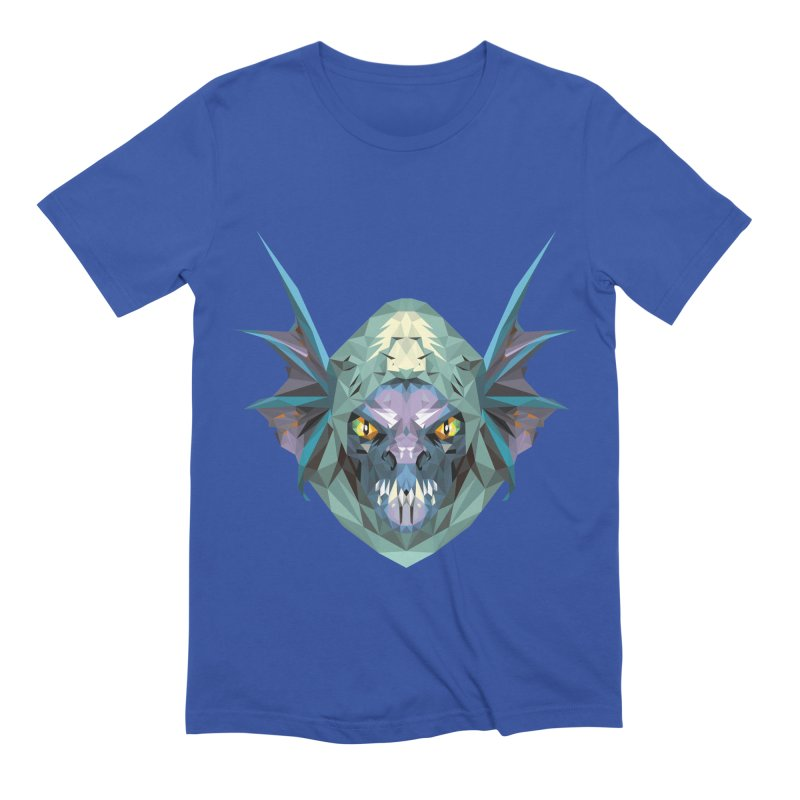 Low Poly Art - Slark Men's Extra Soft T-Shirt by lowpolyart's Artist Shop
