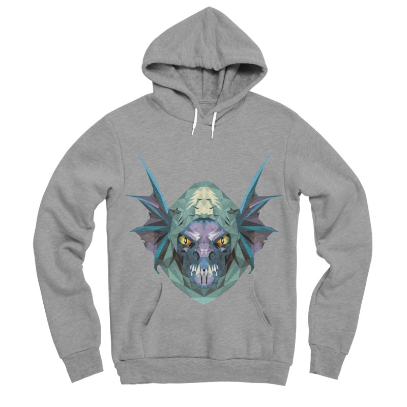 Low Poly Art - Slark Women's Sponge Fleece Pullover Hoody by lowpolyart's Artist Shop