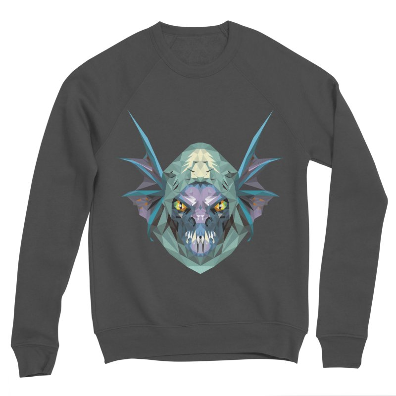 Low Poly Art - Slark Women's Sponge Fleece Sweatshirt by lowpolyart's Artist Shop