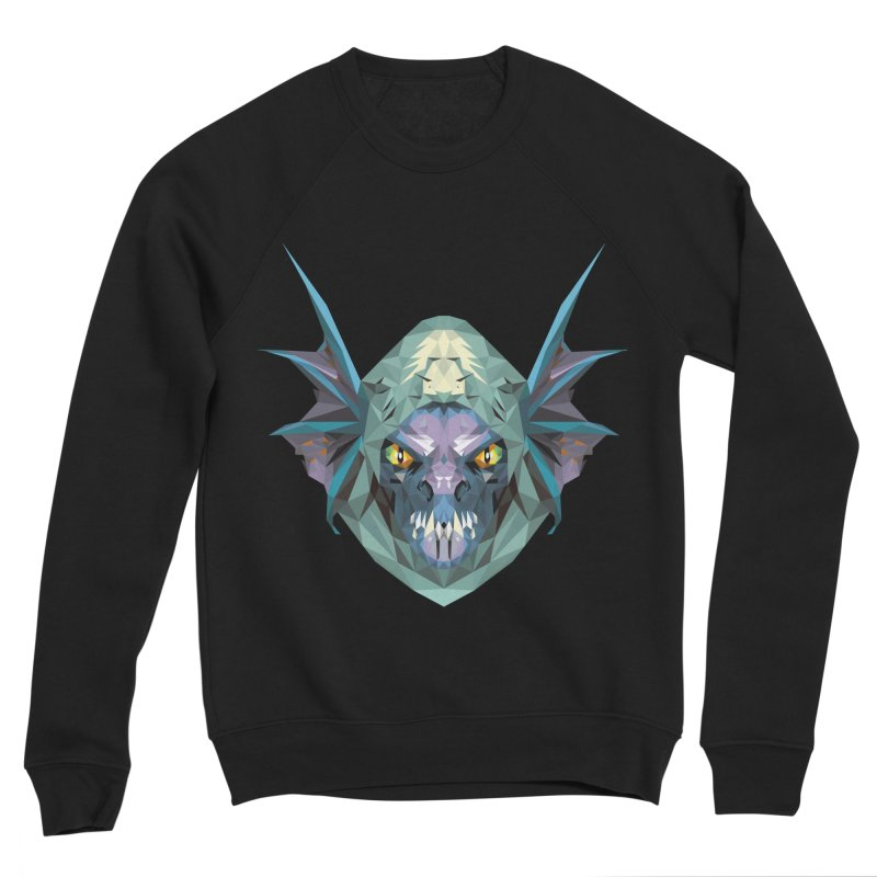 Low Poly Art - Slark Men's Sponge Fleece Sweatshirt by lowpolyart's Artist Shop