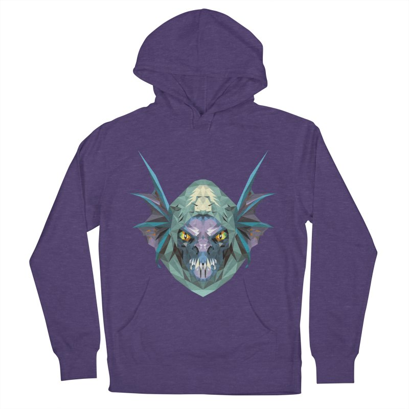 Low Poly Art - Slark Women's French Terry Pullover Hoody by lowpolyart's Artist Shop