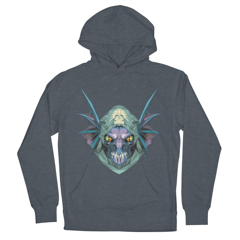 Low Poly Art - Slark Men's French Terry Pullover Hoody by lowpolyart's Artist Shop