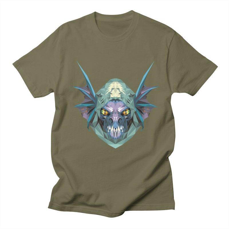 Low Poly Art - Slark Men's Regular T-Shirt by lowpolyart's Artist Shop