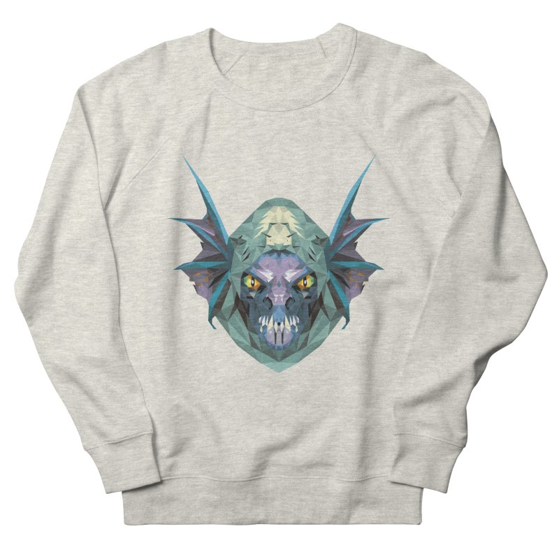 Low Poly Art - Slark Women's French Terry Sweatshirt by lowpolyart's Artist Shop