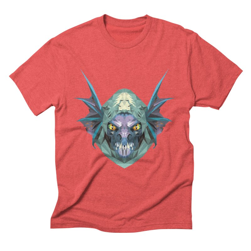 Low Poly Art - Slark Men's Triblend T-Shirt by lowpolyart's Artist Shop