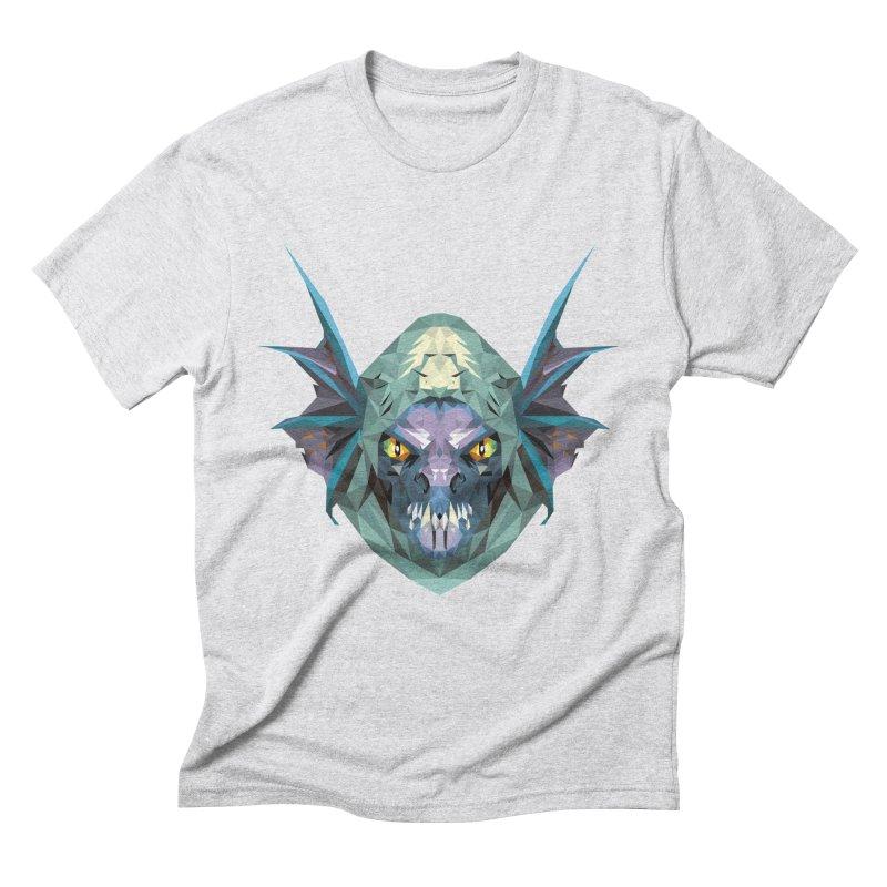 Low Poly Art - Slark Men's Triblend T-Shirt by lowpolyart's Artist Shop