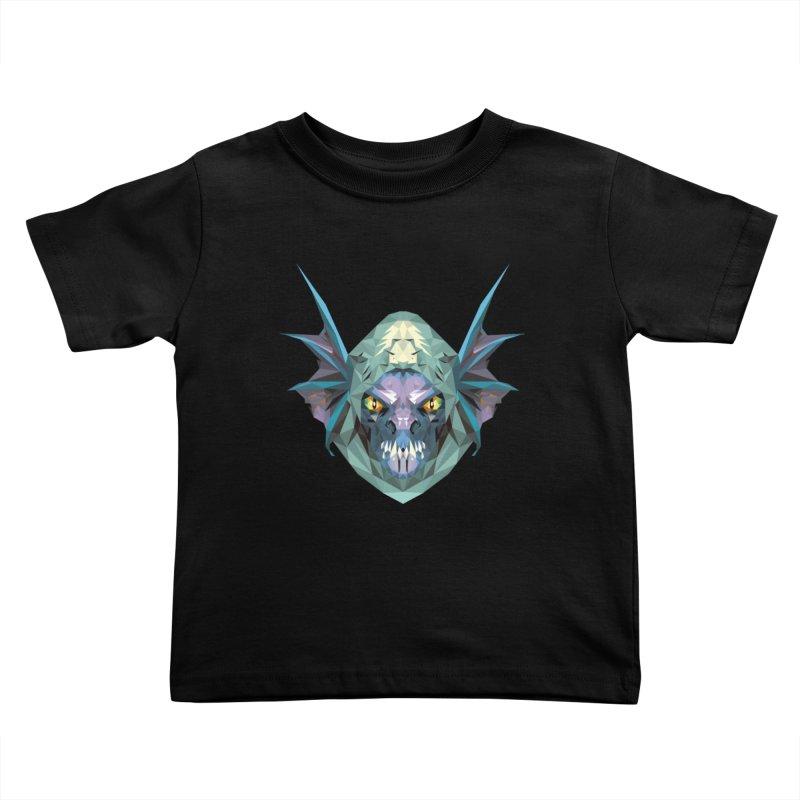 Low Poly Art - Slark Kids Toddler T-Shirt by lowpolyart's Artist Shop