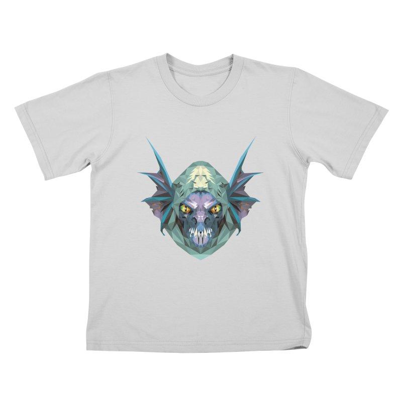Low Poly Art - Slark Kids T-Shirt by lowpolyart's Artist Shop
