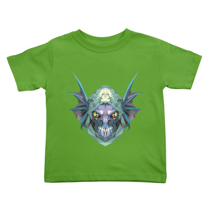 Low Poly Art - Slark Kids Toddler T-Shirt by lowpolyart's Artist Shop