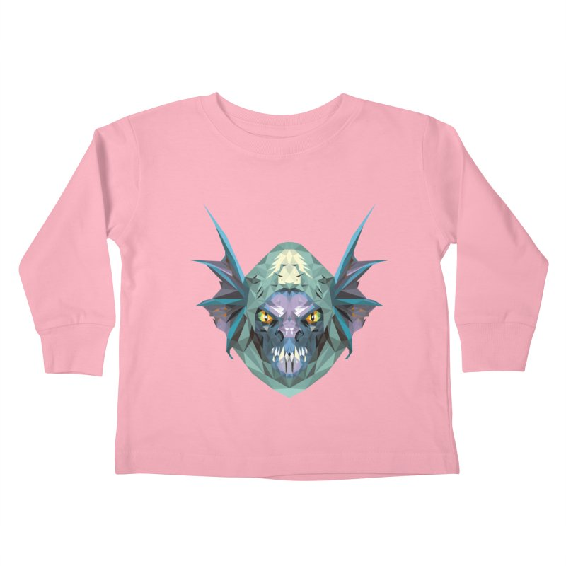 Low Poly Art - Slark Kids Toddler Longsleeve T-Shirt by lowpolyart's Artist Shop