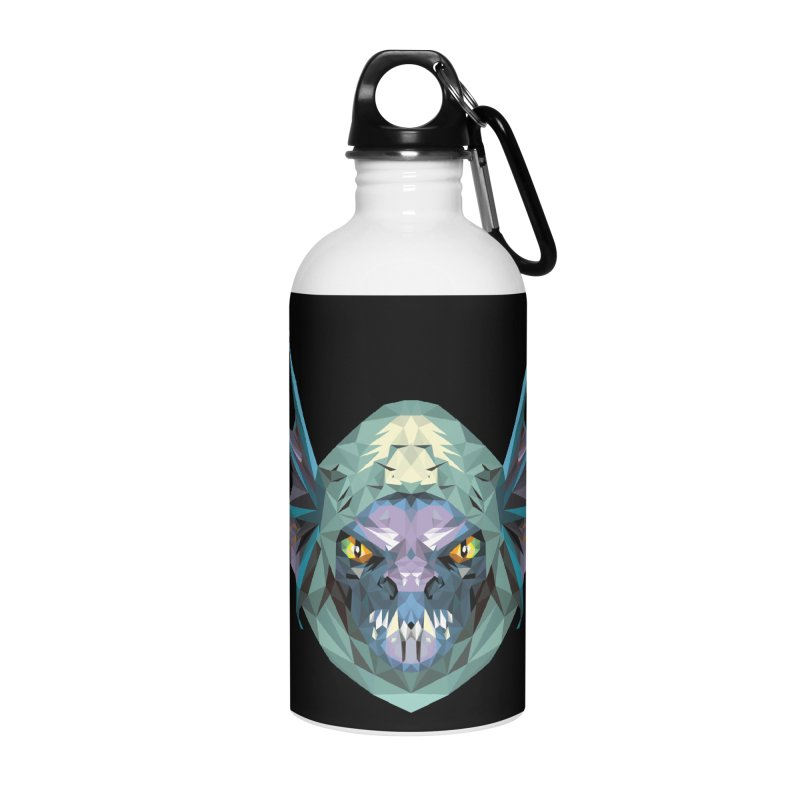 Low Poly Art - Slark Accessories Water Bottle by lowpolyart's Artist Shop