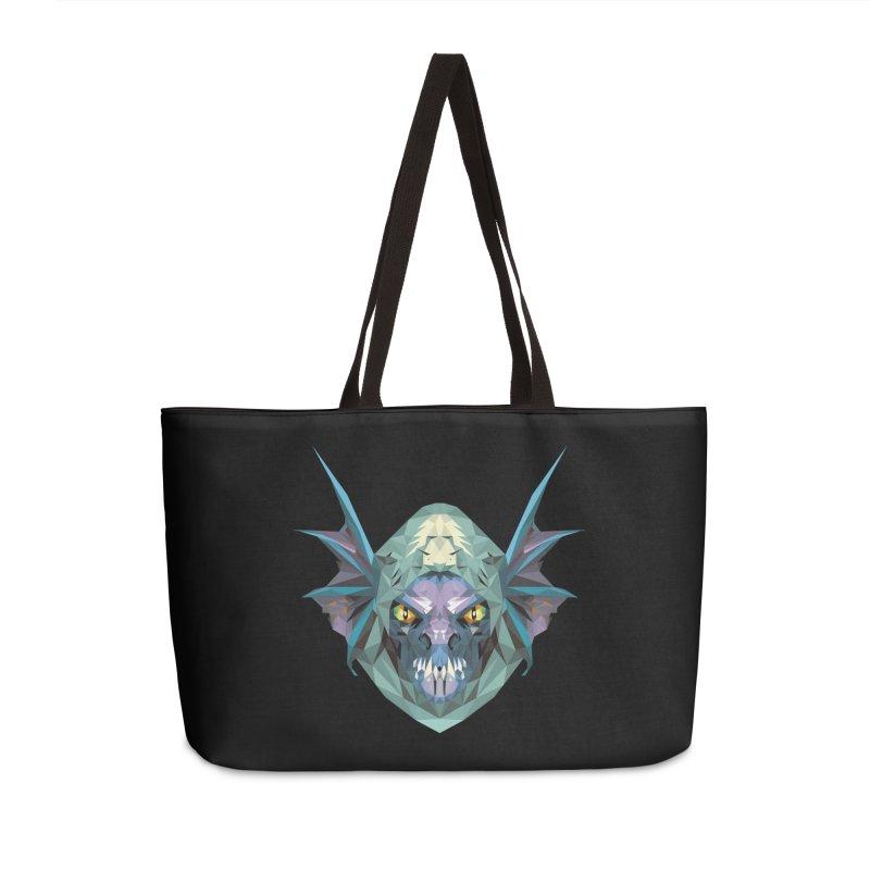 Low Poly Art - Slark Accessories Weekender Bag Bag by lowpolyart's Artist Shop