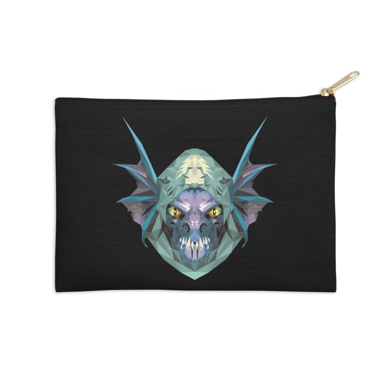 Low Poly Art - Slark Accessories Zip Pouch by lowpolyart's Artist Shop