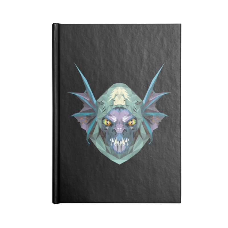Low Poly Art - Slark Accessories Notebook by lowpolyart's Artist Shop