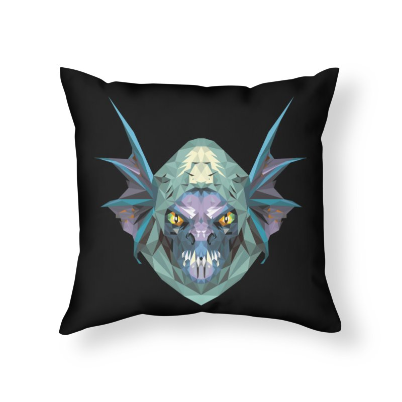 Low Poly Art - Slark Home Throw Pillow by lowpolyart's Artist Shop