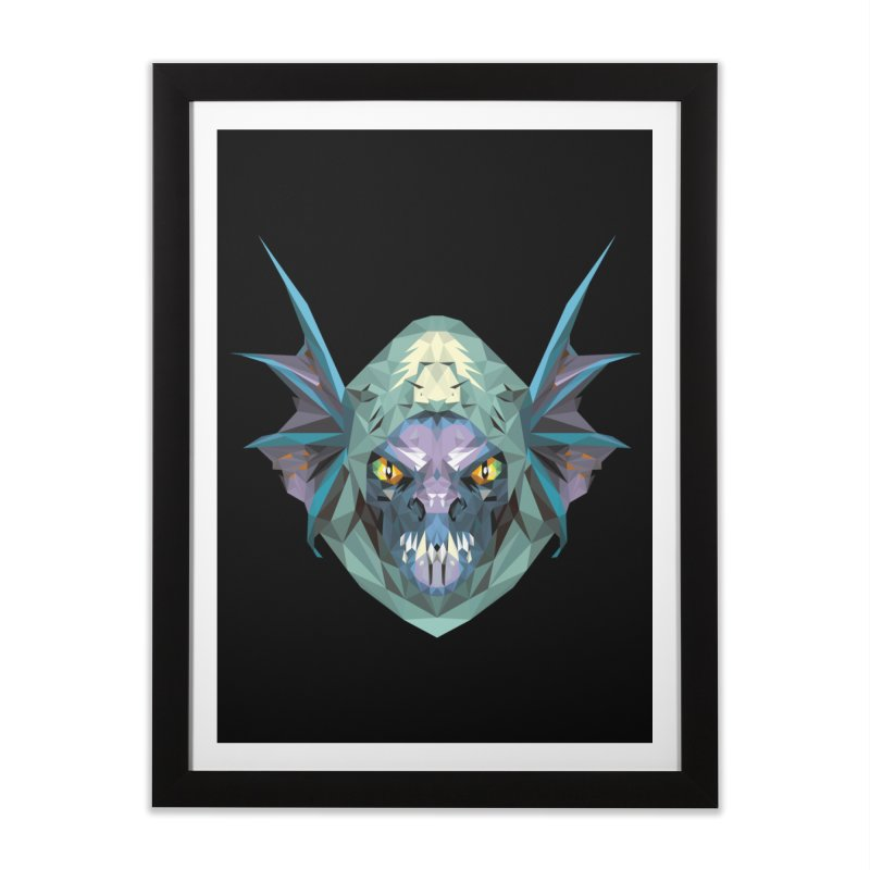 Low Poly Art - Slark Home Framed Fine Art Print by lowpolyart's Artist Shop