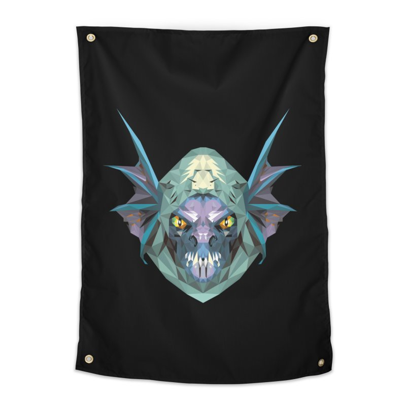 Low Poly Art - Slark Home Tapestry by lowpolyart's Artist Shop