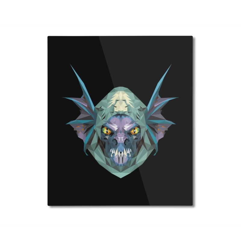 Low Poly Art - Slark Home Mounted Aluminum Print by lowpolyart's Artist Shop