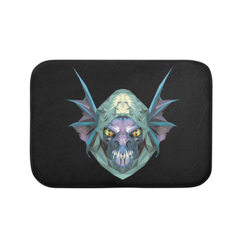 Low Poly Art - Slark Home Bath Mat by lowpolyart's Artist Shop