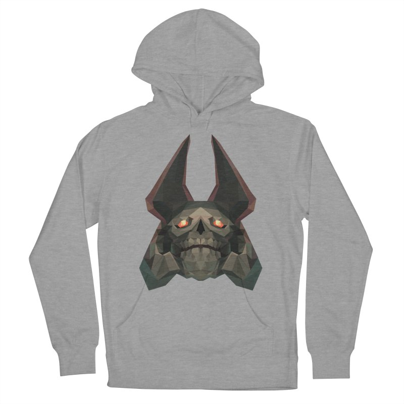 Low Poly Art - Skeleton King Women's Pullover Hoody by lowpolyart's Artist Shop