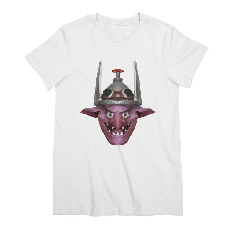 Low Poly Art - Timbersaw Women's Premium T-Shirt by lowpolyart's Artist Shop