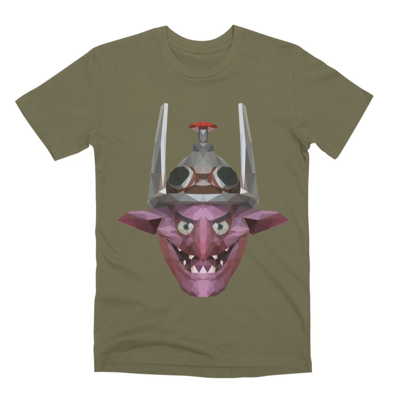 Low Poly Art - Timbersaw Men's Premium T-Shirt by lowpolyart's Artist Shop