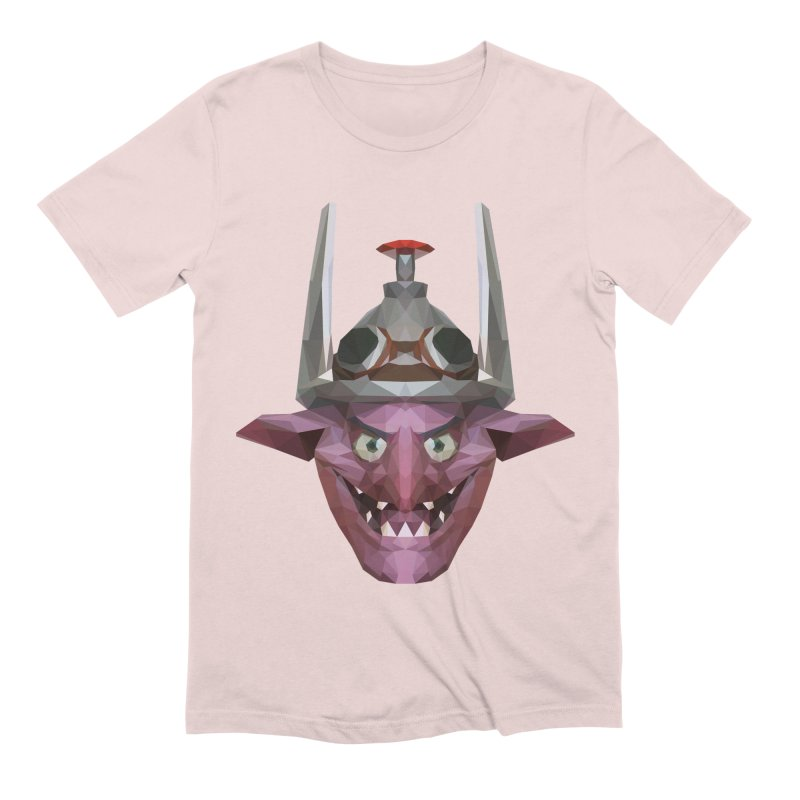 Low Poly Art - Timbersaw Men's Extra Soft T-Shirt by lowpolyart's Artist Shop