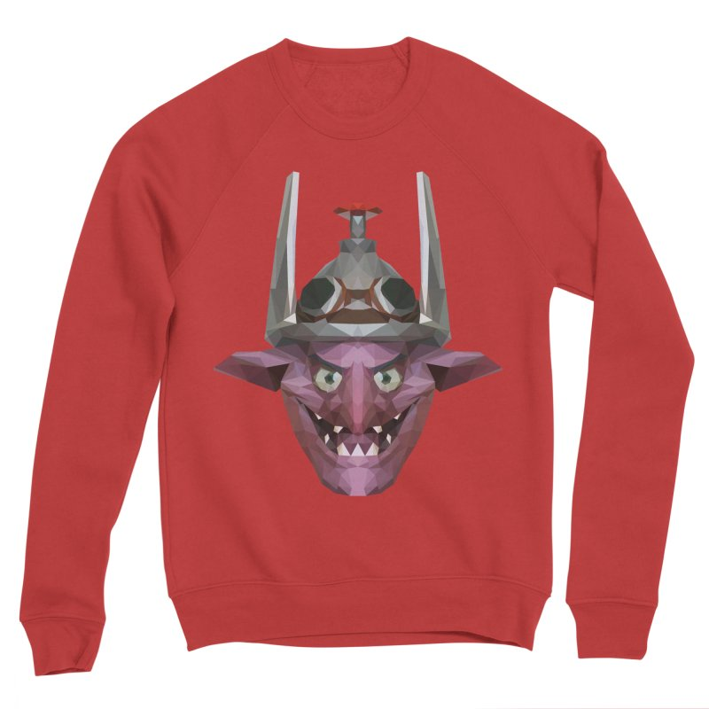 Low Poly Art - Timbersaw Women's Sponge Fleece Sweatshirt by lowpolyart's Artist Shop