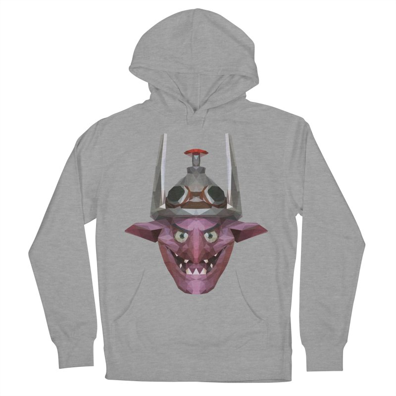 Low Poly Art - Timbersaw Women's French Terry Pullover Hoody by lowpolyart's Artist Shop