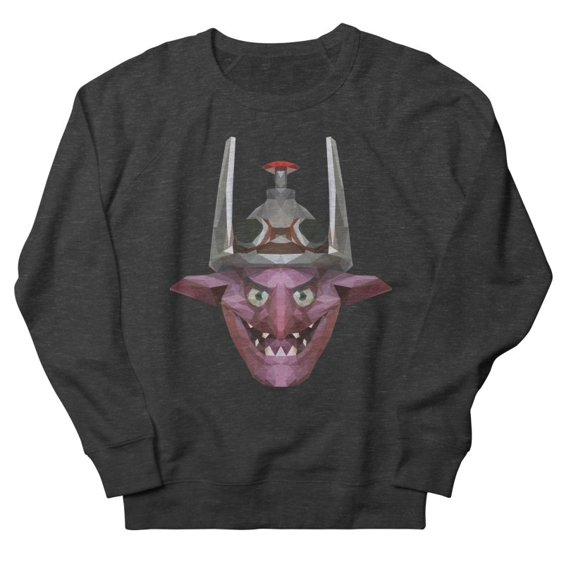 Low Poly Art - Timbersaw Women's French Terry Sweatshirt by lowpolyart's Artist Shop