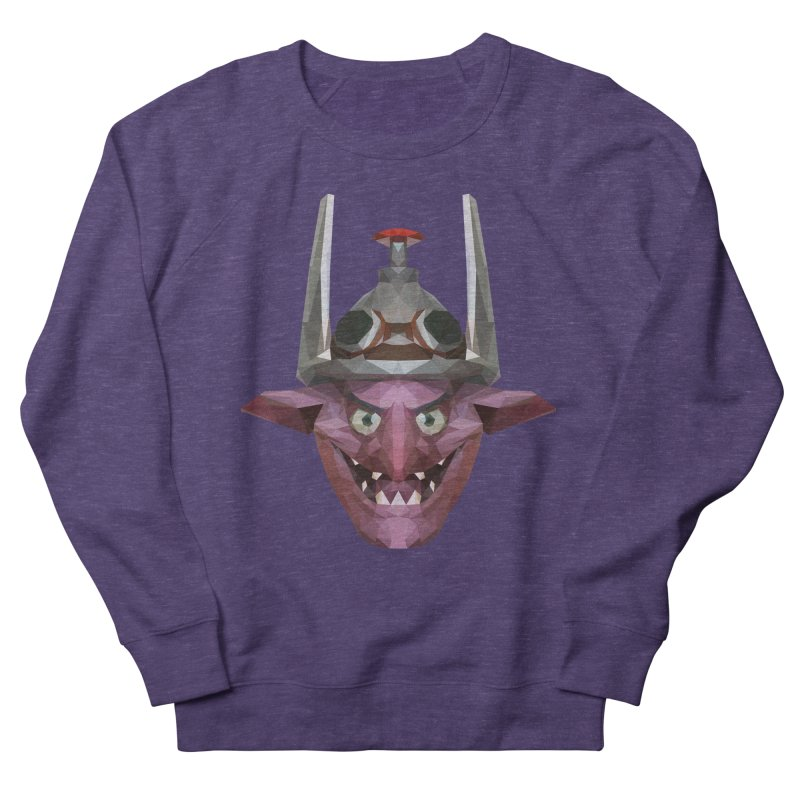 Low Poly Art - Timbersaw Men's French Terry Sweatshirt by lowpolyart's Artist Shop