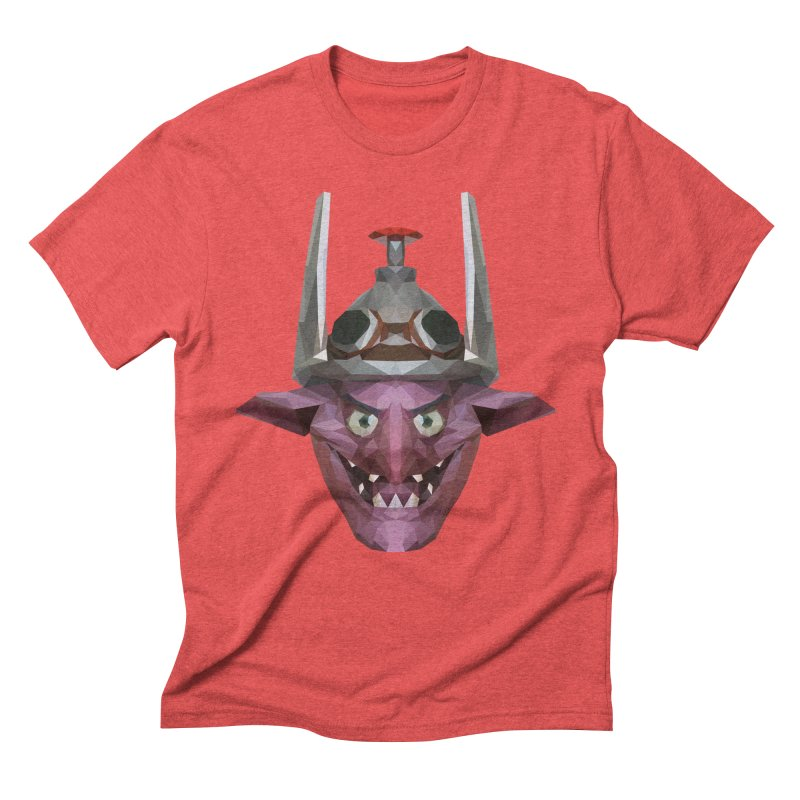 Low Poly Art - Timbersaw Men's Triblend T-Shirt by lowpolyart's Artist Shop