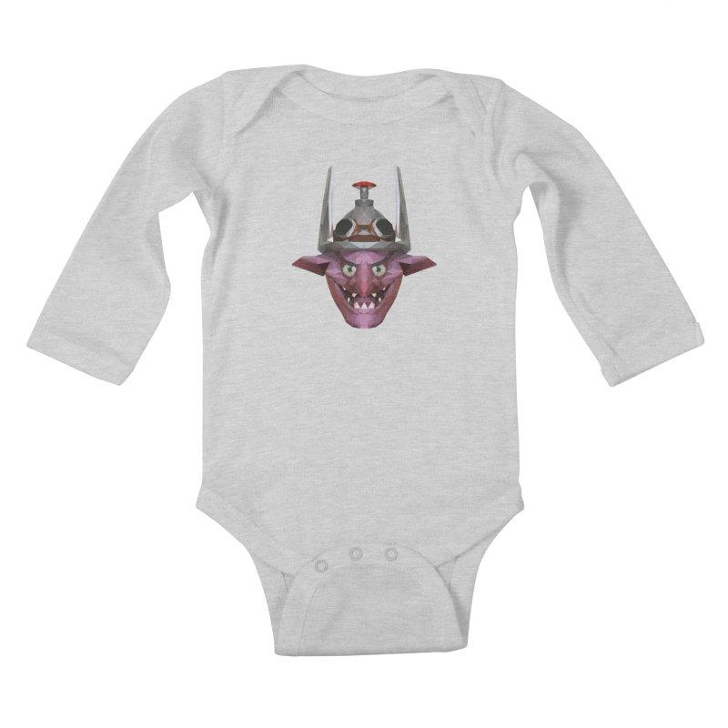 Low Poly Art - Timbersaw Kids Baby Longsleeve Bodysuit by lowpolyart's Artist Shop