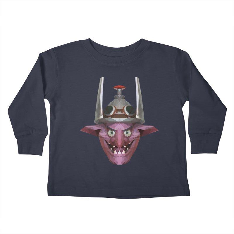 Low Poly Art - Timbersaw Kids Toddler Longsleeve T-Shirt by lowpolyart's Artist Shop