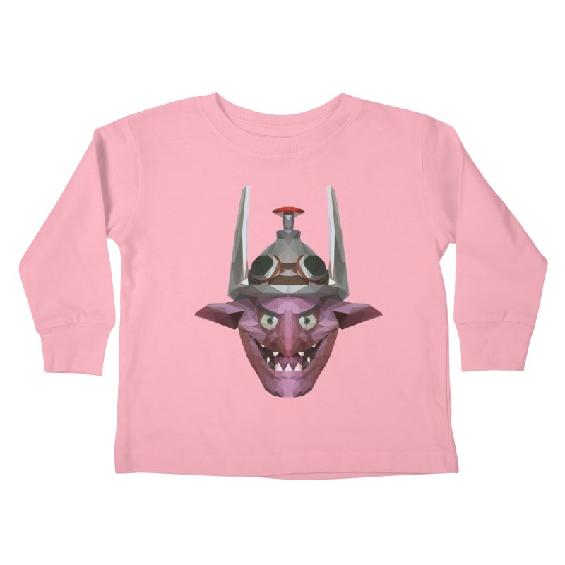 Low Poly Art - Timbersaw Kids Toddler Longsleeve T-Shirt by lowpolyart's Artist Shop