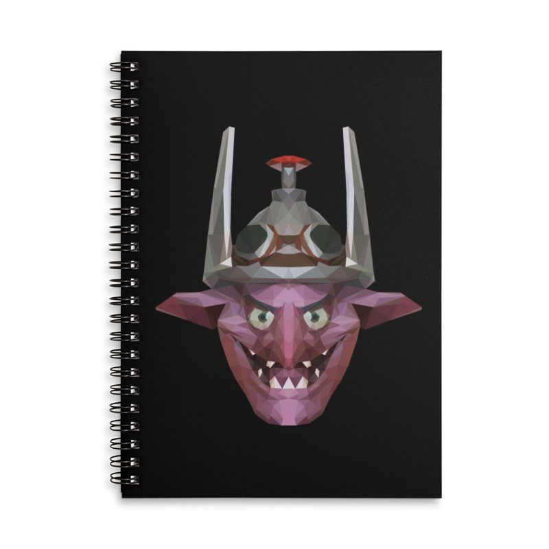 Low Poly Art - Timbersaw Accessories Lined Spiral Notebook by lowpolyart's Artist Shop