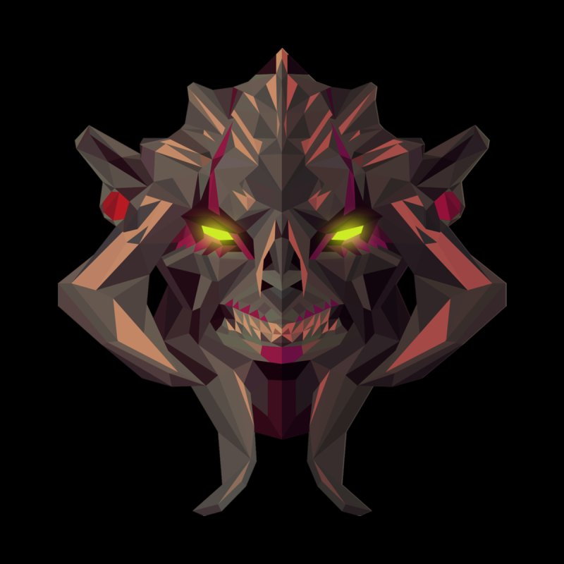 Low Poly Art - Huskar Kids T-Shirt by lowpolyart's Artist Shop
