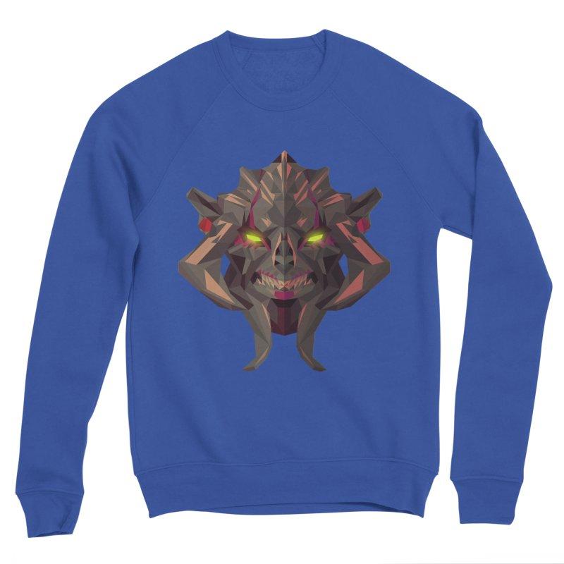 Low Poly Art - Huskar Men's Sweatshirt by lowpolyart's Artist Shop