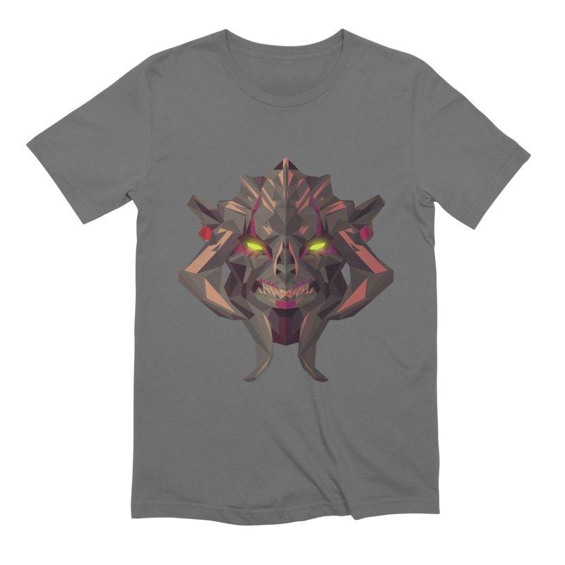 Low Poly Art - Huskar Men's T-Shirt by lowpolyart's Artist Shop