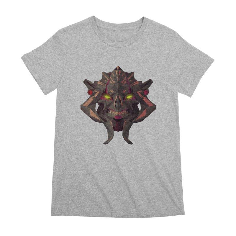 Low Poly Art - Huskar Women's Premium T-Shirt by lowpolyart's Artist Shop