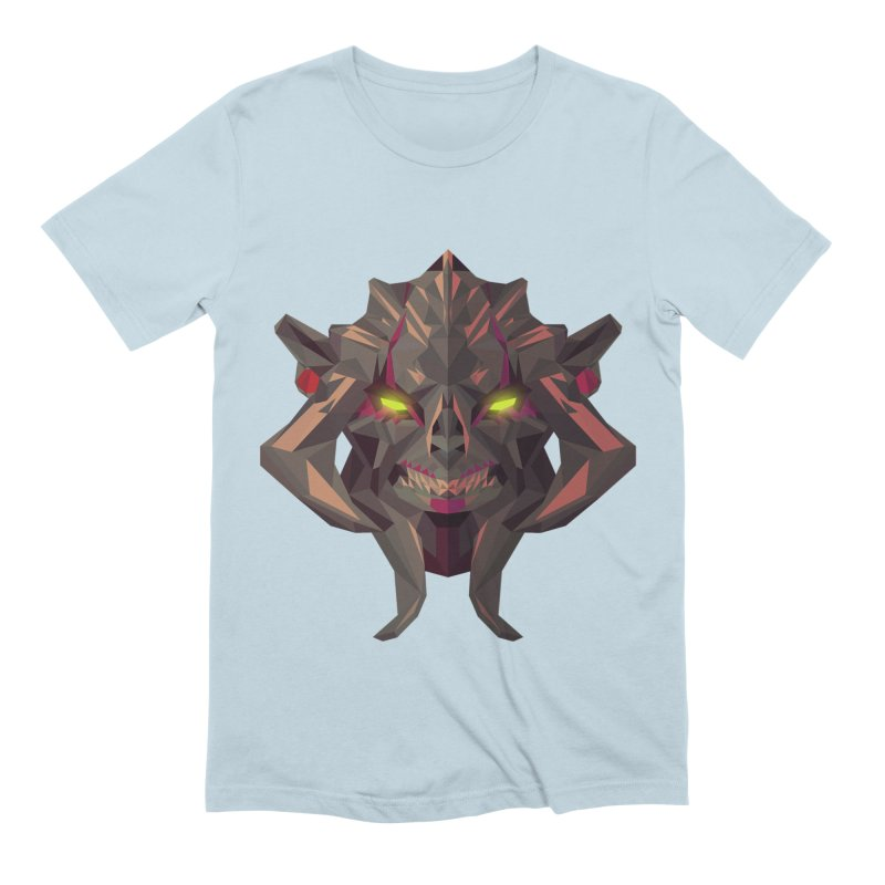 Low Poly Art - Huskar Men's Extra Soft T-Shirt by lowpolyart's Artist Shop