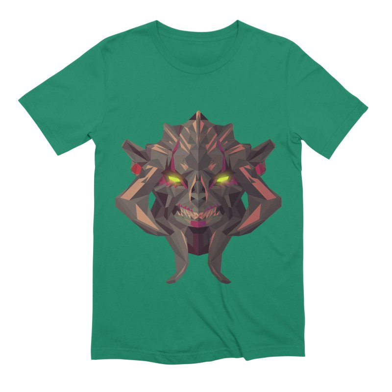 Low Poly Art - Huskar Men's Extra Soft T-Shirt by lowpolyart's Artist Shop