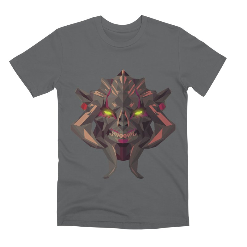 Low Poly Art - Huskar Men's Premium T-Shirt by lowpolyart's Artist Shop