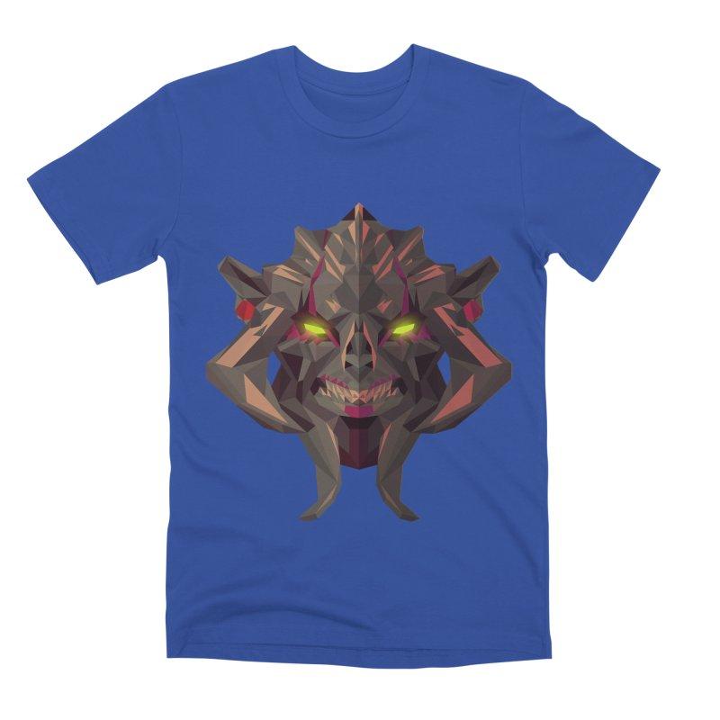 Low Poly Art - Huskar Men's Premium T-Shirt by lowpolyart's Artist Shop