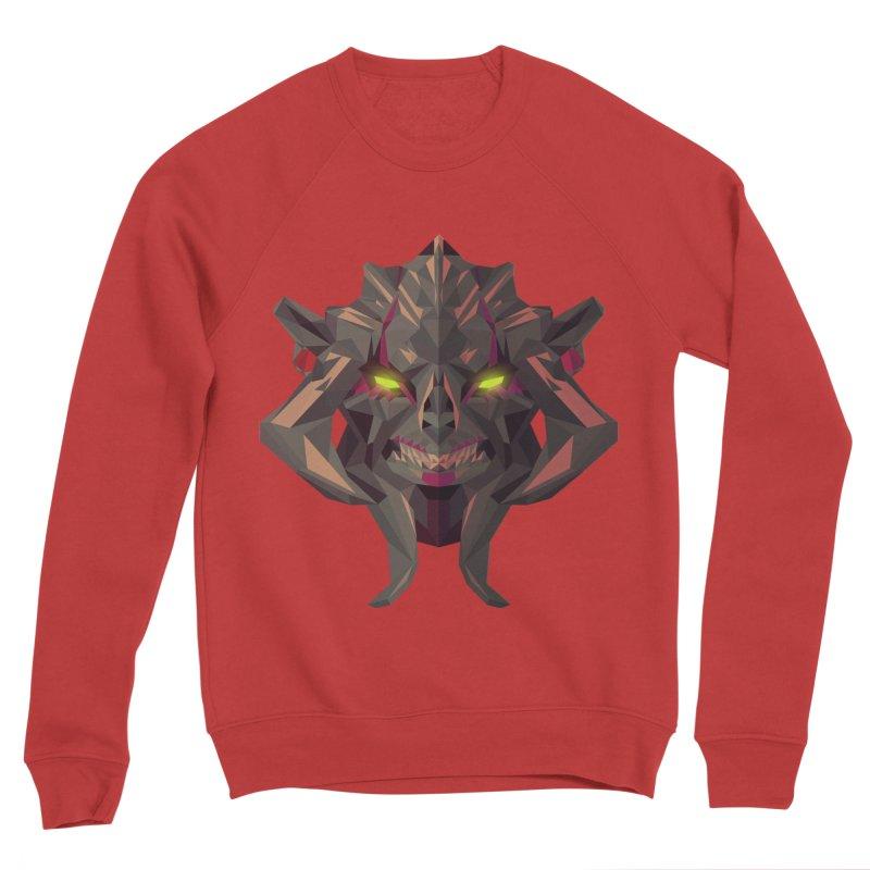 Low Poly Art - Huskar Women's Sponge Fleece Sweatshirt by lowpolyart's Artist Shop