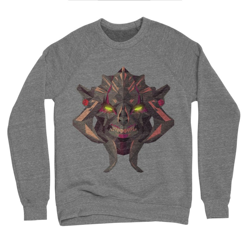 Low Poly Art - Huskar Men's Sponge Fleece Sweatshirt by lowpolyart's Artist Shop