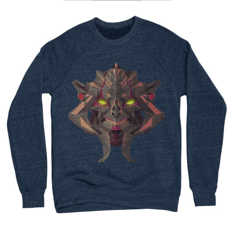 Low Poly Art - Huskar Men's Sponge Fleece Sweatshirt by lowpolyart's Artist Shop