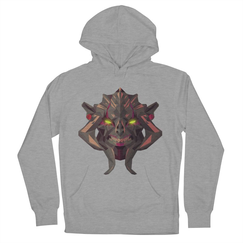 Low Poly Art - Huskar Women's Pullover Hoody by lowpolyart's Artist Shop