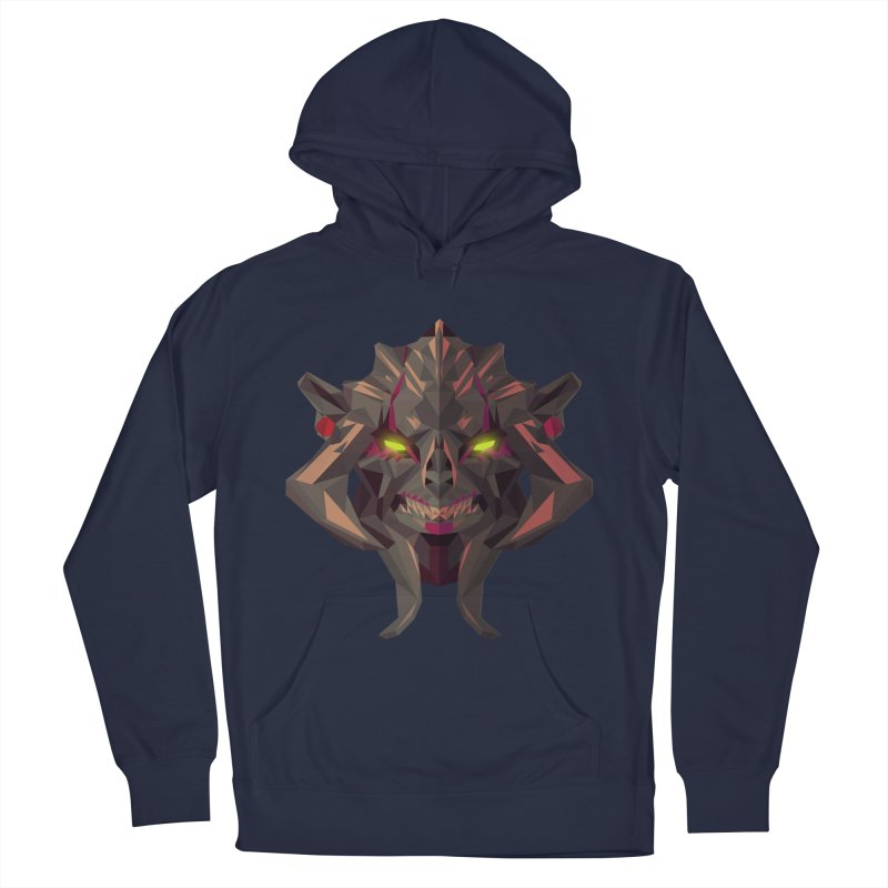 Low Poly Art - Huskar Men's Pullover Hoody by lowpolyart's Artist Shop