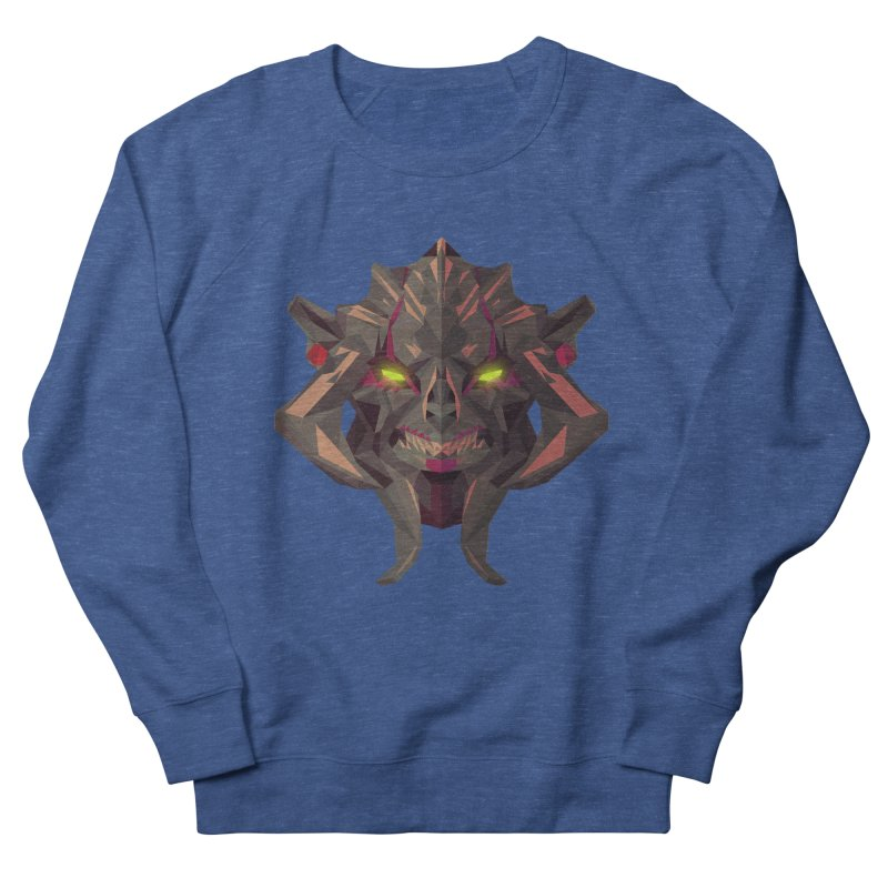 Low Poly Art - Huskar Men's Sweatshirt by lowpolyart's Artist Shop